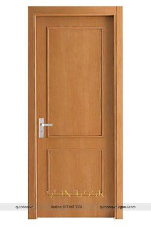 Cửa nhựa vân gỗ có phào QD503