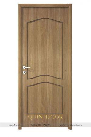 Cửa nhựa vân gỗ soi huỳnh QDC403